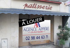 Local commercial / 100m² BREST JAURES