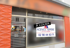 LOCAL COMMERCIAL / 55m² / BREST SECTEUR SIAM