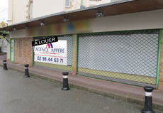 LOCAL COMMERCIAL / 130m² / BREST KERINOU