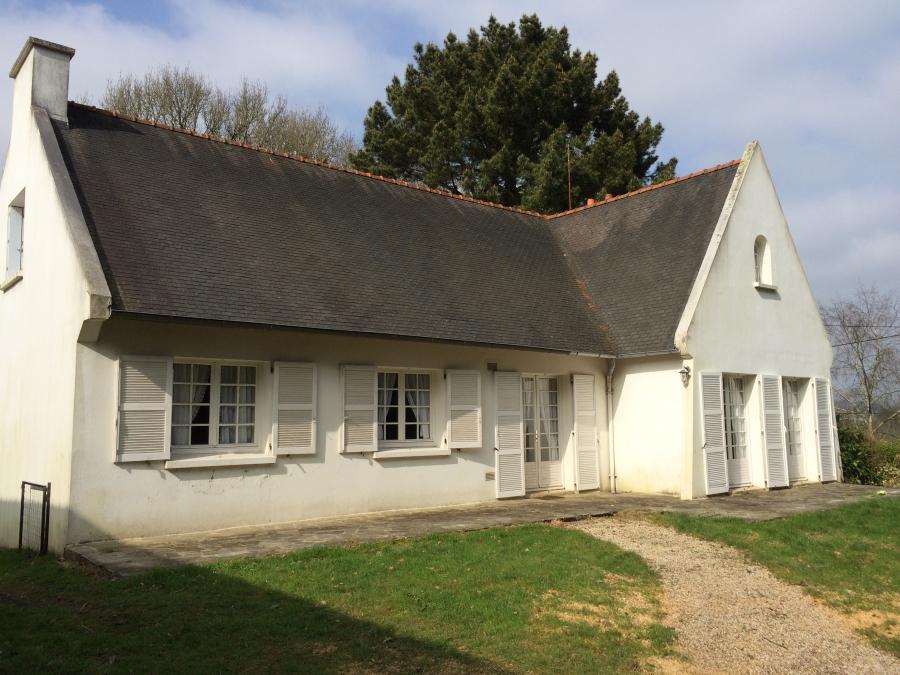 A louer grande maison t7 landerneau refait neuf 140 m2 for Location garage landerneau
