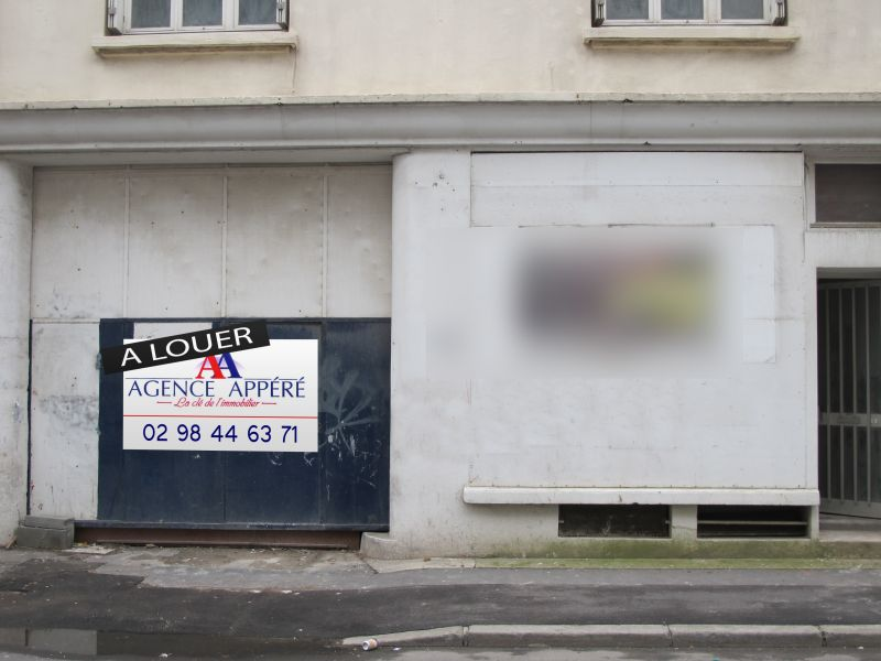 Local commercial / Entrepôt 400m² BREST JAURES